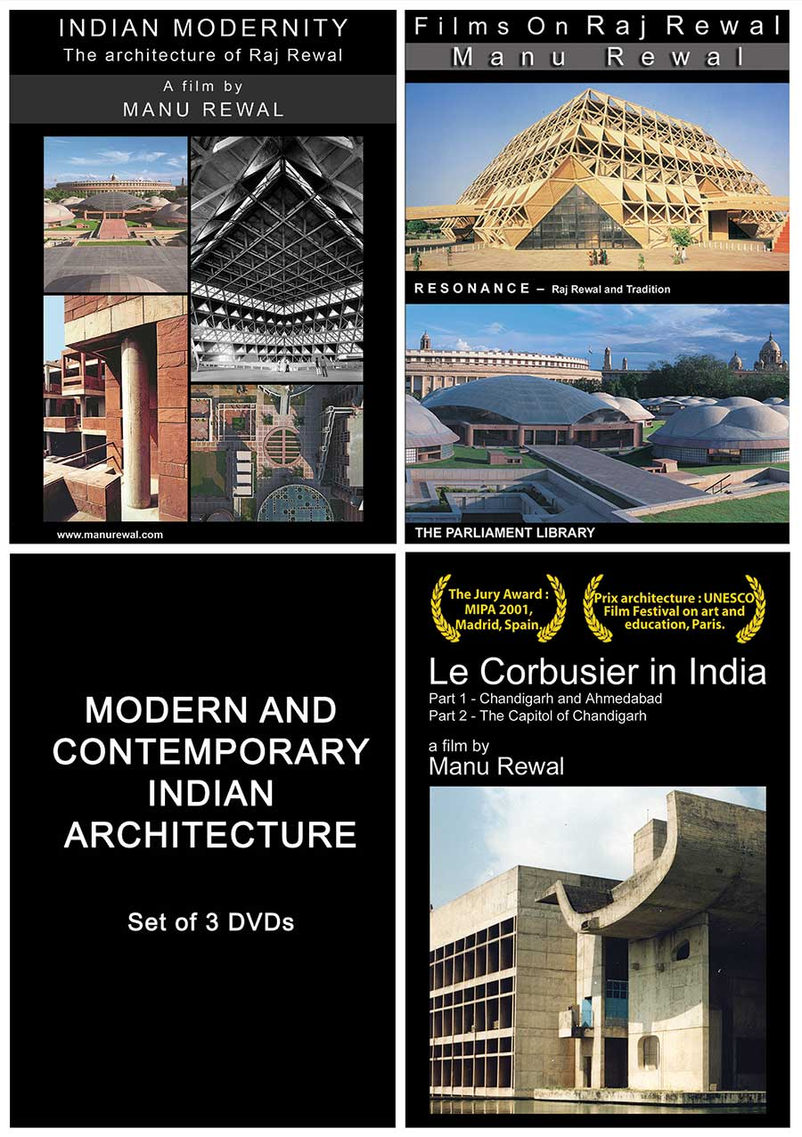 MODERN & CONTEMPORARY INDIAN ARCHITECTURE – DVD BUNDLE